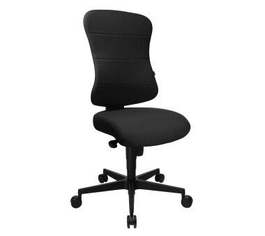 Topstar Komfort-Bürodrehstuhl mit Federkernkissen,...