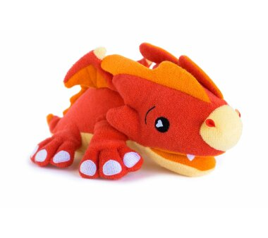 KNORRTOYS Badetier SoapSox SCORCH rot / orange,...