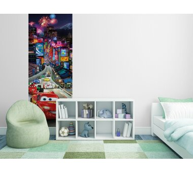 Fototapete SUNNY DECOR, CARS TOKIO, 1 Teil, BxH 73 x 202  cm