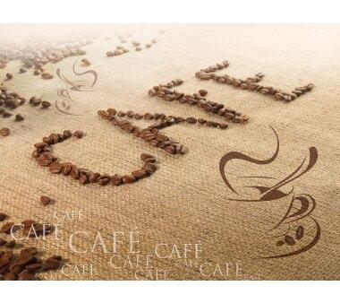 Fototapete SUNNY DECOR, CAFE, 4 Teile, BxH 254 x 184  cm