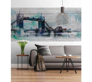 Fototapete SUNNY DECOR, LONDON, 4 Teile, BxH 368 x 127 cm