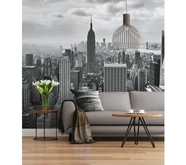 Fototapete SUNNY DECOR, NYC BLACK AND WHITE, 8 Teile, BxH...