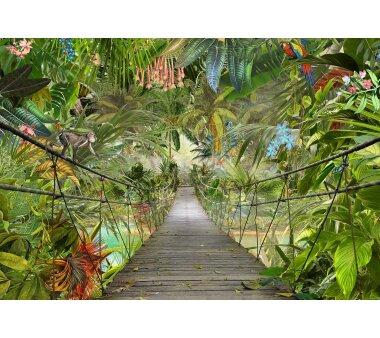 Fototapete KOMAR WILD BRIDGE, 8 Teile, BxH 368 x 254  cm