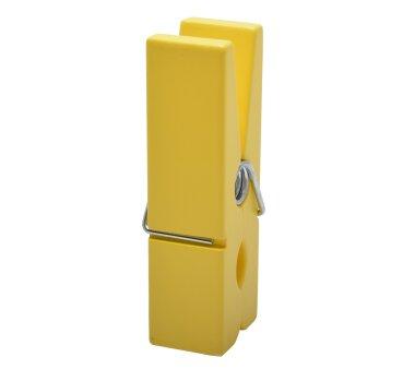 Duraline Mega-Klammer gelb, 20 x 7 x 5 cm