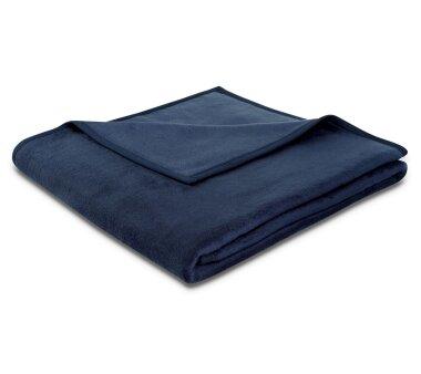 Bocasa Wohndecke Uno Soft, Farbe dunkelblau, Gr. 150x200 cm