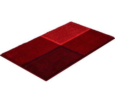 GRUND Badteppich-Serie DIVISO, Farbe rubin