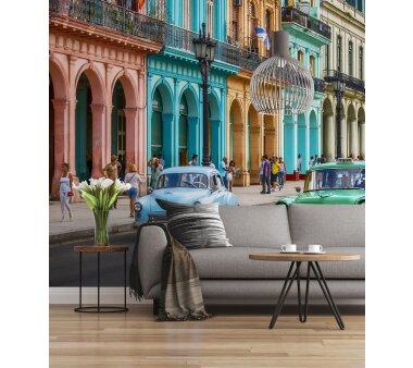 Fototapete SUNNY DECOR, CUBA, 8 Teile, BxH 368 x 254 cm