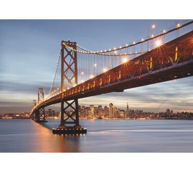 Fototapete SUNNY DECOR, BAY BRIDGE, 8 Teile, BxH 368 x...