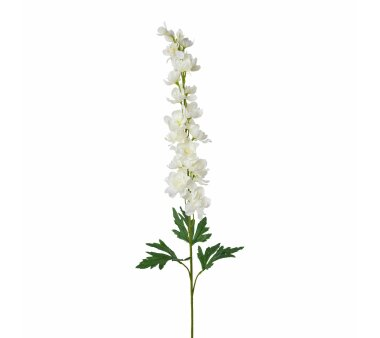 Kunstblume Rittersporn, 3er Set, Farbe weiß,...