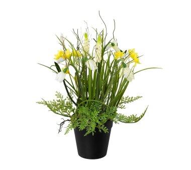 Kunstpflanze Frühlingsmix, 2er Set, Farbe...