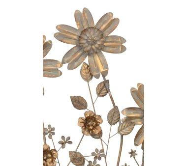 Wanddekoration Blumenwiese / Gräser,...