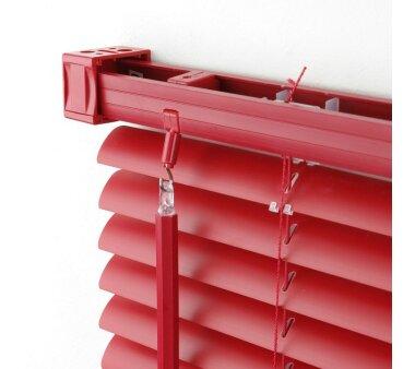 LIEDECO Jalousie aus PVC  060 x 160 cm  Fb. rot