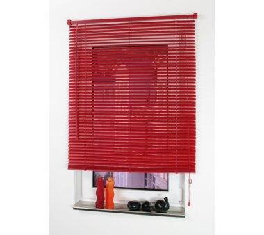 LIEDECO Jalousie aus PVC  060 x 220 cm  Fb. rot