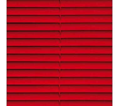 LIEDECO Jalousie aus PVC  080 x 160 cm  Fb. rot