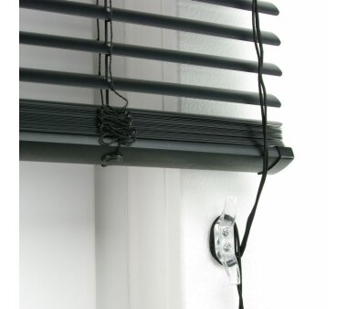 LIEDECO Jalousie aus PVC  110 x 160 cm  Fb. schwarz