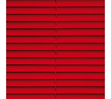 LIEDECO Jalousie aus PVC  120 x 160 cm  Fb. rot