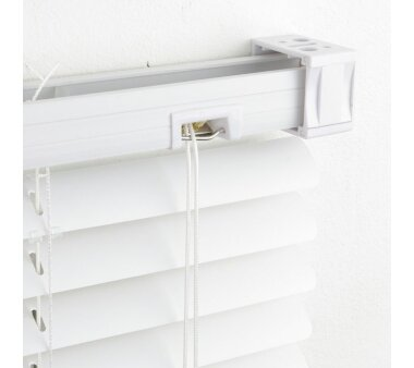 LIEDECO Jalousie aus PVC  120 x 220 cm  Fb. weiß