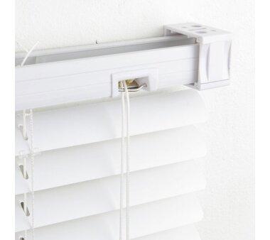 LIEDECO Jalousie aus PVC  130 x 160 cm  Fb. weiß