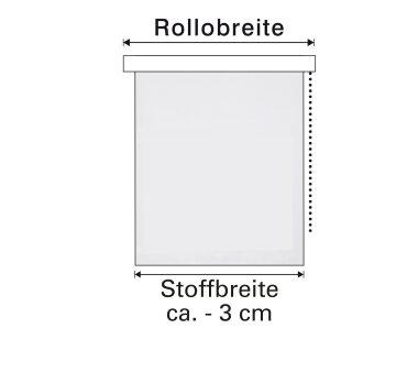 GARDINIA EASYFIX Doppelrollo TRINGLE, Farbe weiß /...