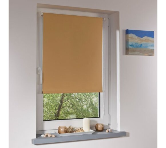 rollo thermo rollo terracotta 75x150 cm liedeco. Black Bedroom Furniture Sets. Home Design Ideas