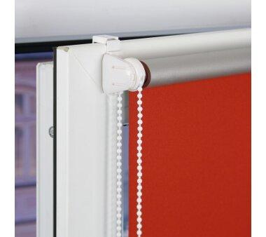 LIEDECO Klemmfix-Rollo Verdunklung mit Thermobeschichtung  120 x 150 cm  Fb. terracotta