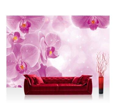 Vlies Fototapete no. 407   Orchideen Tapete Orchidee...