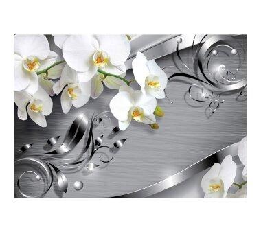 Vlies Fototapete no. 603   Orchideen Tapete Ornament...