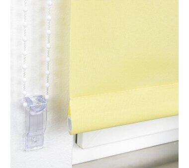 LIEDECO Seitenzugrollo Uni-Tageslicht 082 x 180 cm Fb. gelb