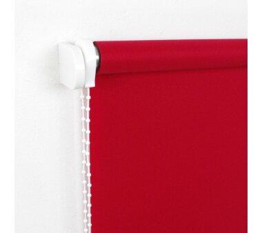 LIEDECO Seitenzugrollo Uni-Tageslicht 082 x 180 cm Fb. rot