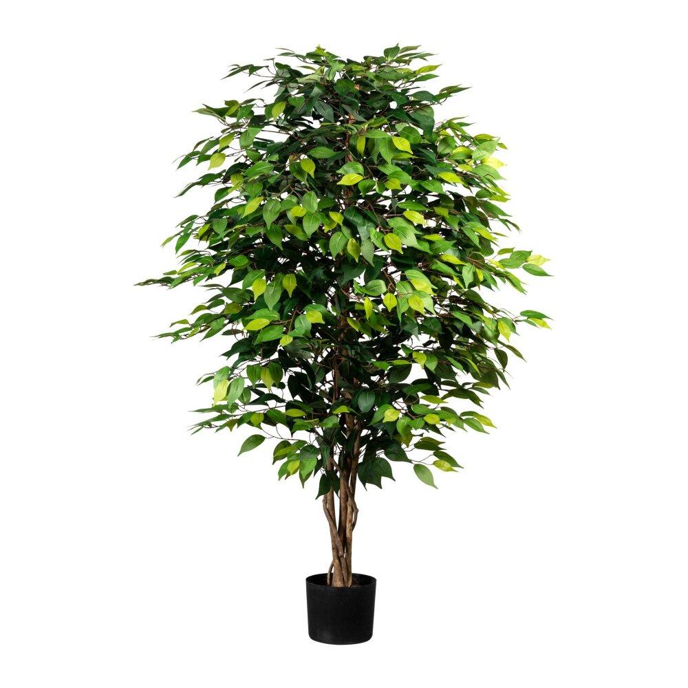 Kunstpflanze Ficus, 16 Blätter, 16 cm  Wohnfuehlidee