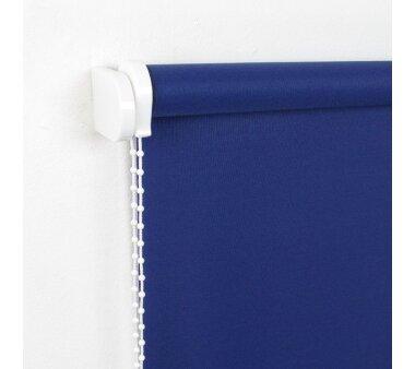 LIEDECO Seitenzugrollo Uni-Tageslicht 102 x 180 cm Fb.  dunkelblau