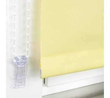 LIEDECO Seitenzugrollo Uni-Tageslicht 102 x 240 cm Fb. gelb