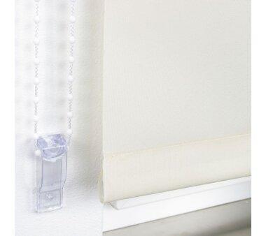 LIEDECO Seitenzugrollo Uni-Tageslicht 122 x 180 cm Fb. cream