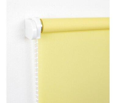 LIEDECO Seitenzugrollo Uni-Tageslicht 142 x 180 cm Fb. gelb