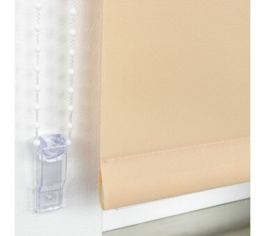 LIEDECO Seitenzugrollo Uni-Tageslicht 142 x 180 cm Fb. sand