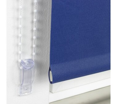 LIEDECO Seitenzugrollo Uni-Verdunkelnd  062 x 180 cm  Fb. dunkelblau