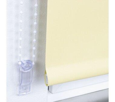 LIEDECO Seitenzugrollo Uni-Verdunkelnd  082 x 180 cm  Fb. gelb