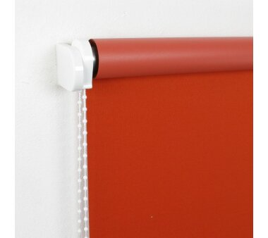 LIEDECO Seitenzugrollo Uni-Verdunkelnd  102 x 180 cm  Fb. terracotta