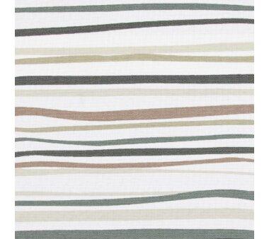 LIEDECO Seitenzugrollo Dekor-Tageslicht 112 x 180 cm  Fb. Streifen braun / anthrazit