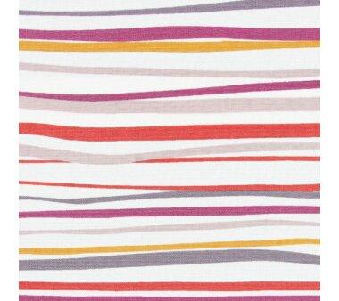 LIEDECO Seitenzugrollo Dekor-Tageslicht 122 x 180 cm  Fb. Streifen terra / bordeaux