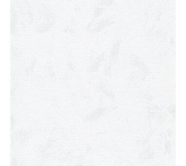 LIEDECO Seitenzugrollo Dekor-Abdunklung 082 x 180 cm  Fb. Wolken weiß