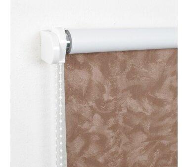 LIEDECO Seitenzugrollo Dekor-Abdunklung 162 x 180 cm  Fb....