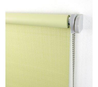 LIEDECO Seitenzugrollo Struktur Verdunklung 062 x 175 cm  Fb. lindgrün