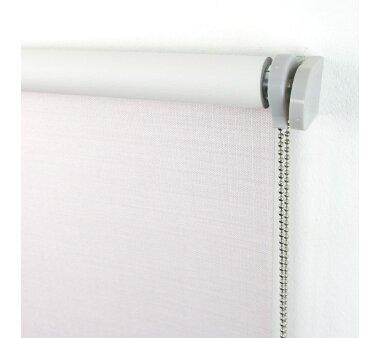 LIEDECO Seitenzugrollo Struktur Verdunklung 142 x 175 cm  Fb. creme
