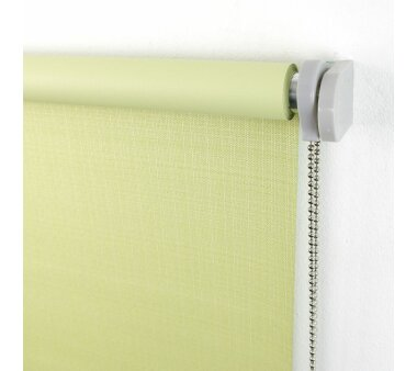LIEDECO Seitenzugrollo Struktur Verdunklung 142 x 175 cm  Fb. lindgrün