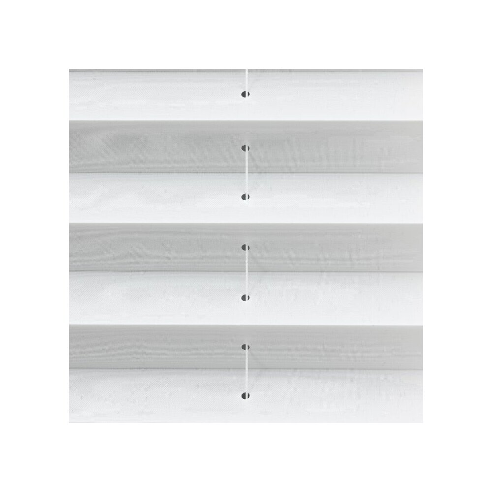 plissee faltstore offwhite 70x130 cm liedeco. Black Bedroom Furniture Sets. Home Design Ideas