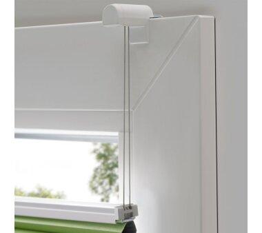 LIEDECO Klemmfix-Thermo-Plissee verspannt VD  090 x 130 cm  Fb. apfelgrün