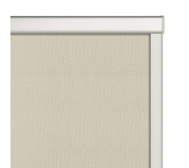 LIEDECO Dachfensterrollo m. seitl. Führungsschiene  38,3 x 54,0 cm  Fb. beige