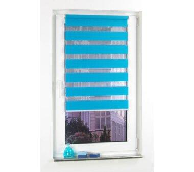 LIEDECO Klemmfix Duo-Rollo mini 045 x 160 cm blau