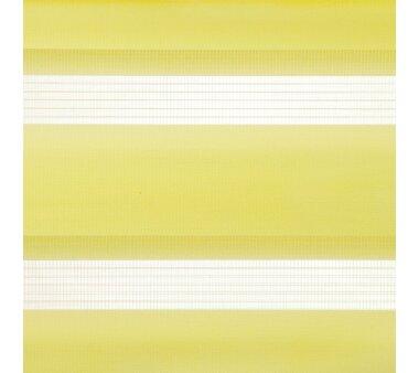 LIEDECO Klemmfix Duo-Rollo mini 080 x 200 cm gelb